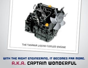 C and B Equipment can point you in the right direction for your Yanmar Liquid Cooled Engine!