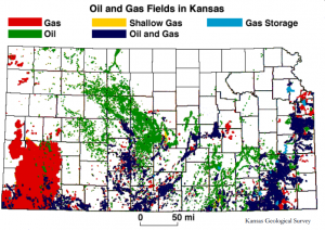 C and B Equipment Oil and Gas Fields in Kansas