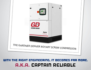 High-Performing Air Compressors for Gardner Denver, C&B Equipment, INC.