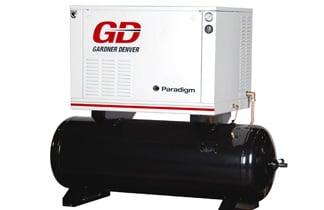 Gardner Denver 5-15 hp Paradigm Compressors, C&B Equipment, INC.