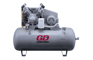 R-Series Splash Lubricated Reciprocating Compressors, C&B Equipment, INC.