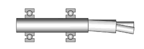 It is critical to limit shaft deflection to avoid internal parts from rubbing together.