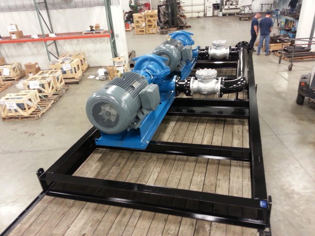 Pump Packages, C&B Equipment, INC.